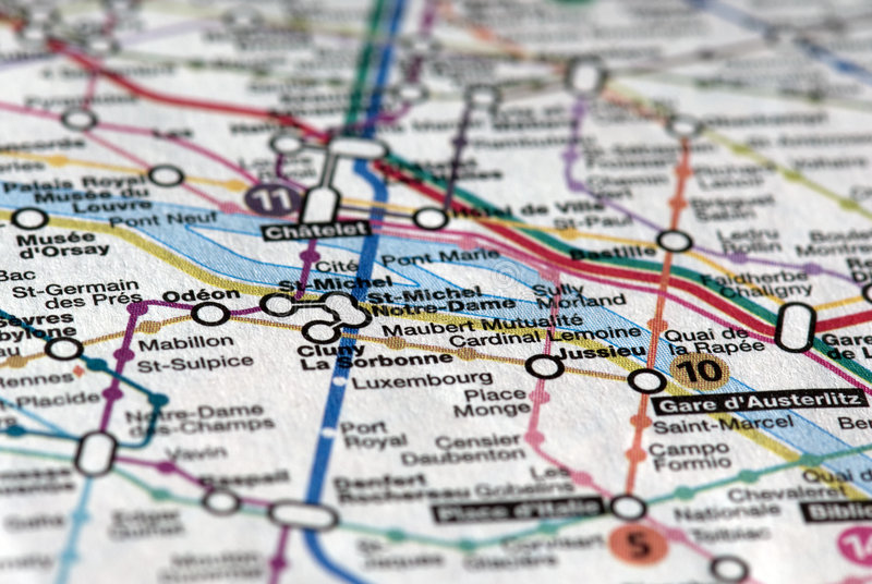 De kaart van de metro parijs royalty vrije stock foto 39 s afbeelding 7726908 - Tegel metro parijs ...
