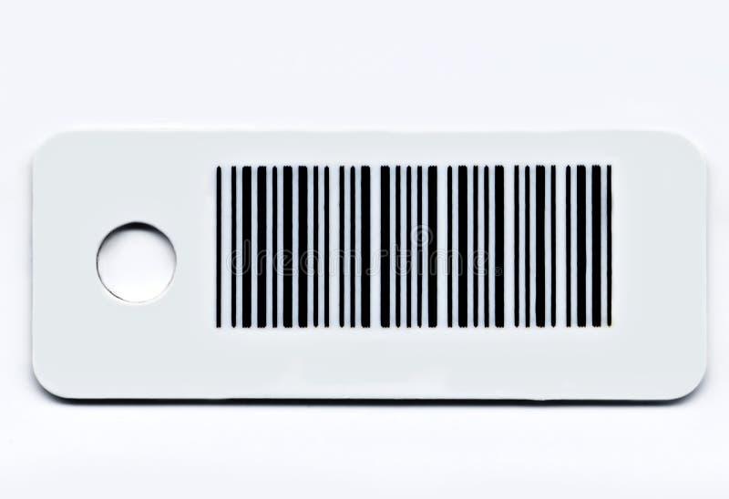 De kaart van de streepjescode stock foto's
