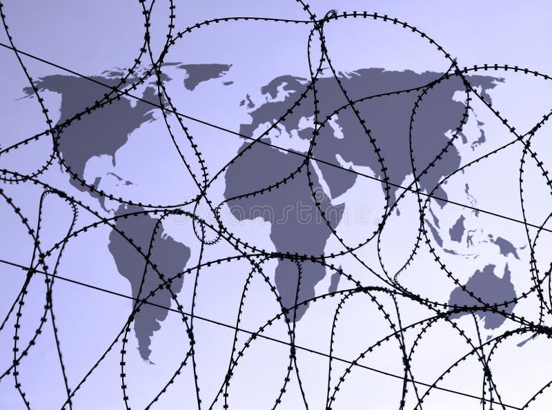 Veiligheid wereldwijd royalty-vrije illustratie