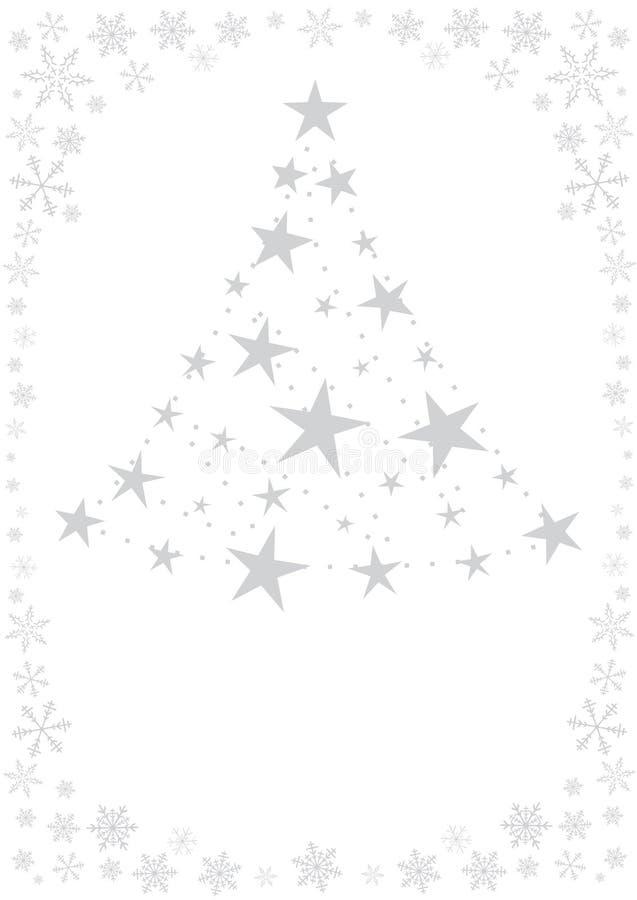 De kaart van Kerstmis royalty-vrije illustratie