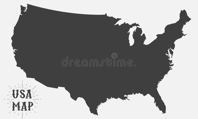 De kaart van de V Achtergrond vector illustratie