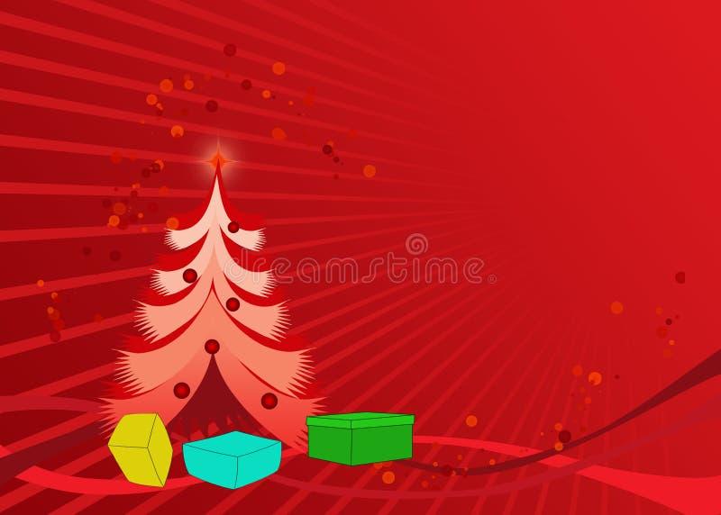 De kaartbehang van Kerstmis royalty-vrije stock foto
