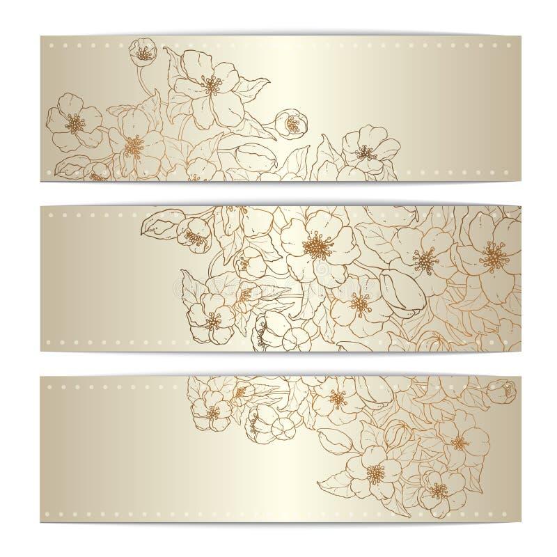 De kaarten van het de schoonheidsmalplaatje van de krabbelbrochure voor achtergrond, achtergrond, gift, uitnodiging, banner, ontw royalty-vrije stock foto's