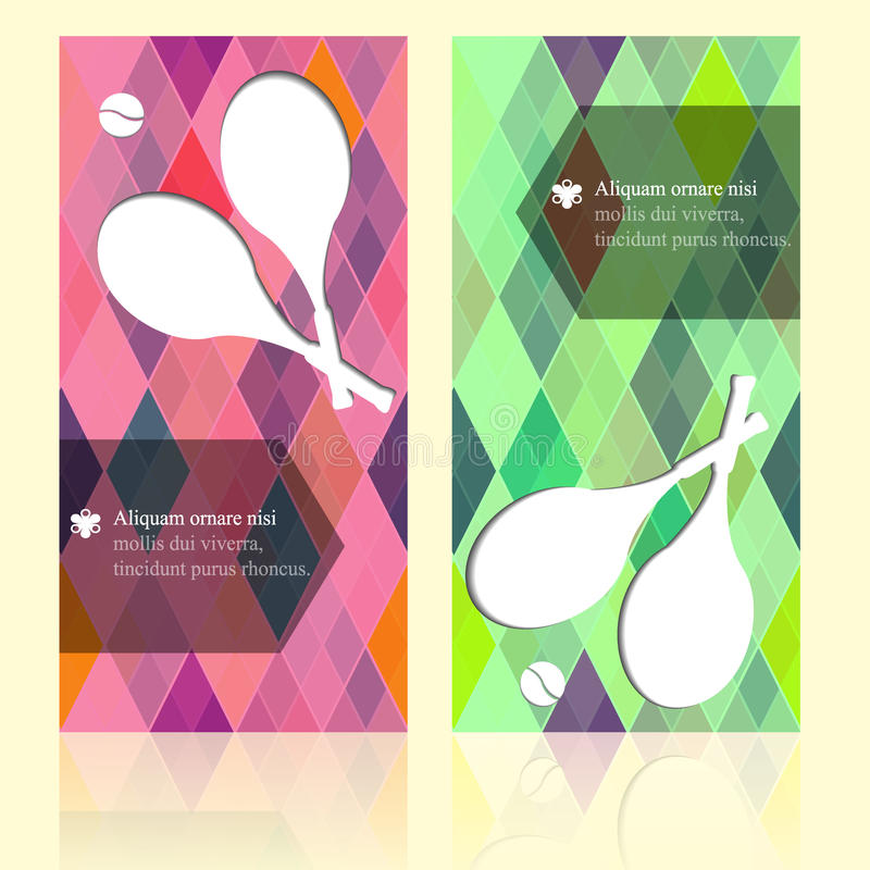 De kaarten van het de schoonheidsmalplaatje van de sportbrochure met uw tekst voor achtergrond, achtergrond, kader, gift, uitnodi royalty-vrije stock afbeeldingen