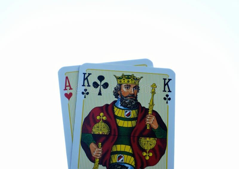 De kaarten van de pook royalty-vrije stock foto