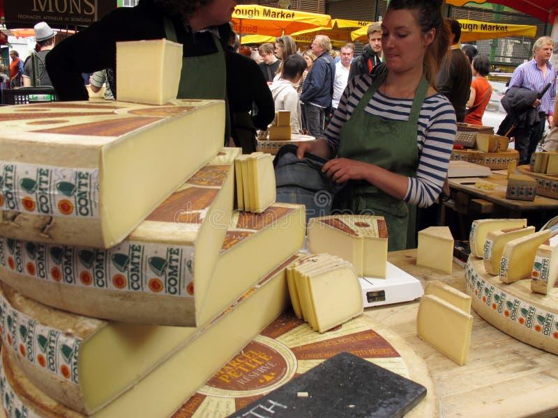 De kaas van Comte royalty-vrije stock afbeelding