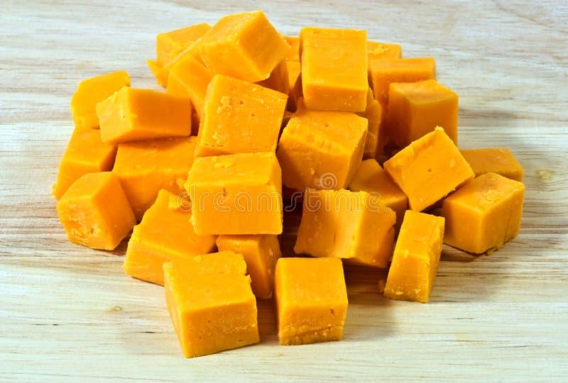 De kaas van de cheddar stock fotografie