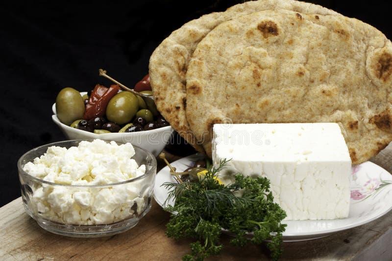 De kaas van feta royalty-vrije stock afbeeldingen