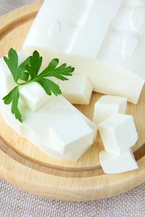 De kaas van feta royalty-vrije stock afbeelding
