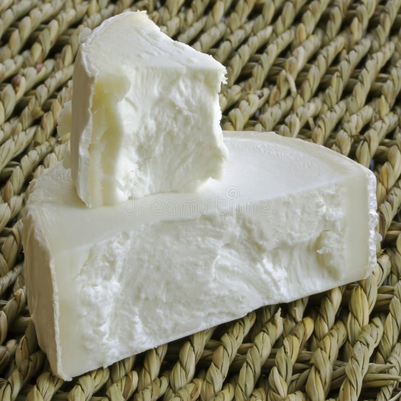 De kaas van geiten royalty-vrije stock afbeelding