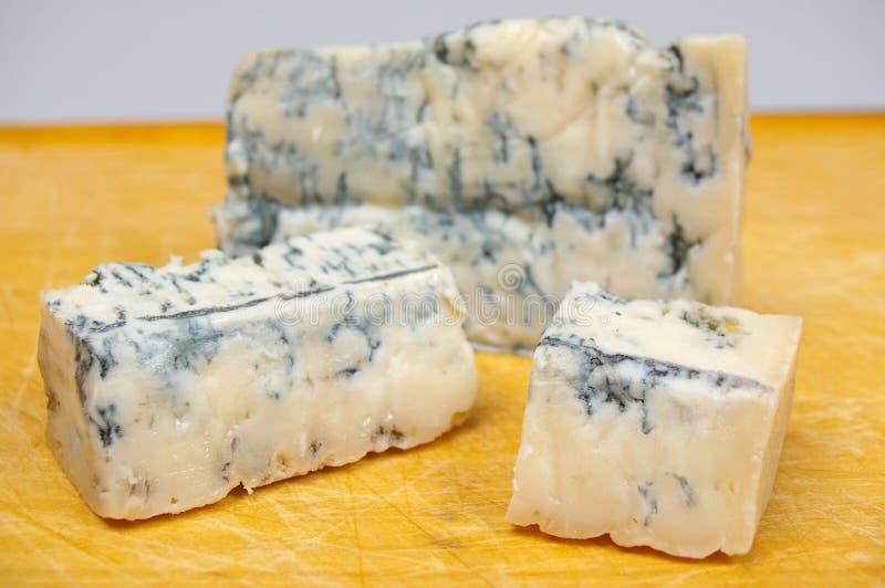 De kaas van gorgonzola royalty-vrije stock foto's