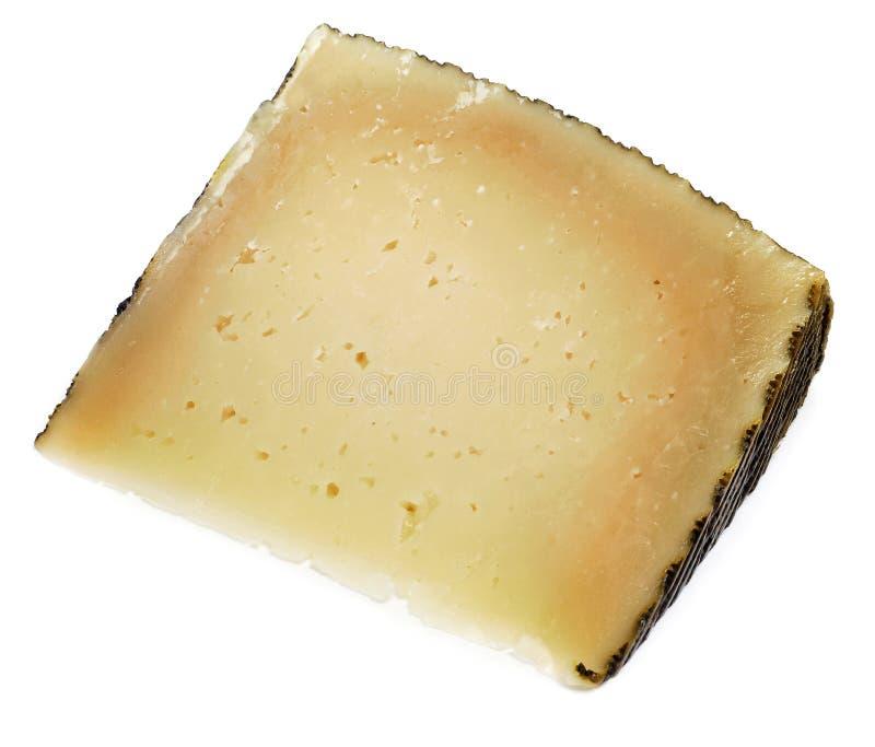 De kaas van Manchego stock afbeelding