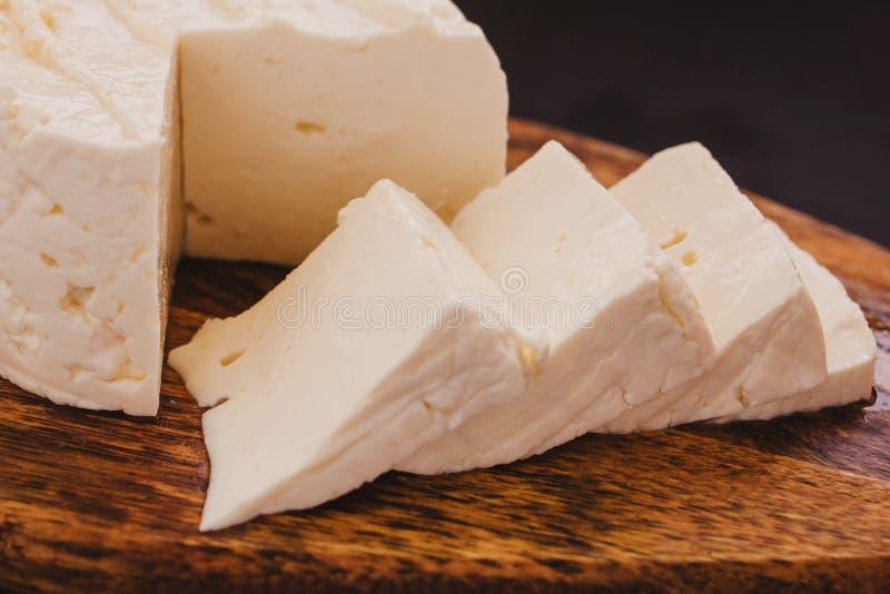 De kaas van Quesopanela, Mexicaans voedsel, witte en verse kaas in Mexico royalty-vrije stock afbeeldingen