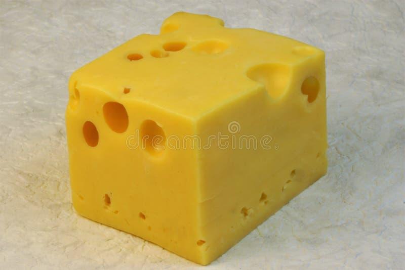 De kaas is voedingsmiddelen uit op kaas-gebaseerde melk worden afgeleid die stock foto