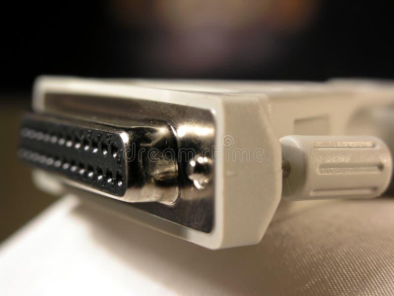 De kabel van de computer royalty-vrije stock foto's