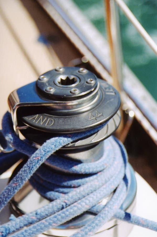 Download De Kabel van de zeilboot stock afbeelding. Afbeelding bestaande uit kleur - 40053