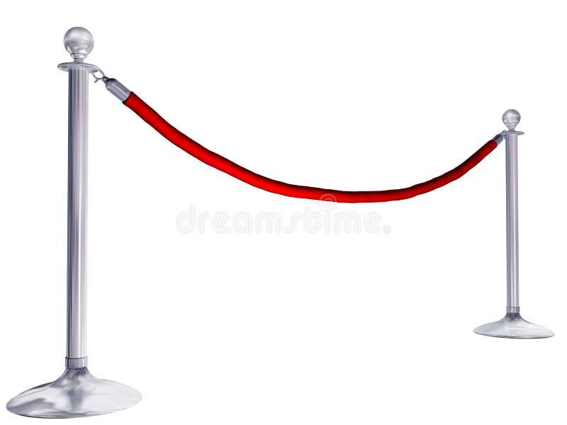 De kabel van het fluweel royalty-vrije illustratie