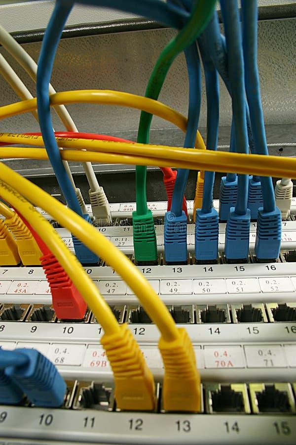 De kabel van het netwerk