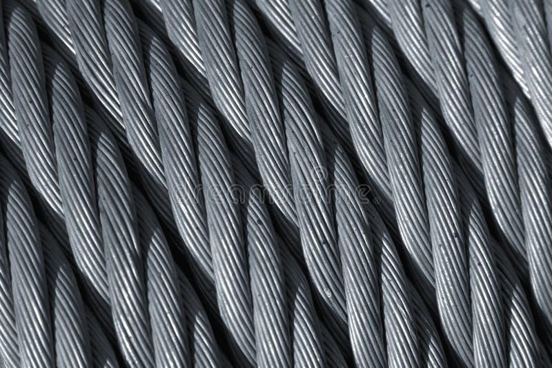 De kabel van het staal royalty-vrije stock fotografie