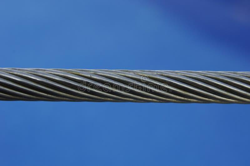 De kabel van het staal stock foto's