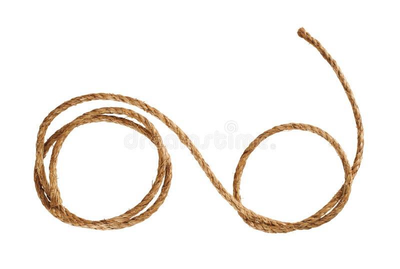 De kabel van Manilla royalty-vrije stock fotografie