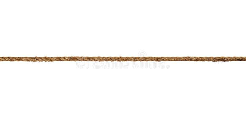 De kabel van Manilla royalty-vrije stock afbeeldingen