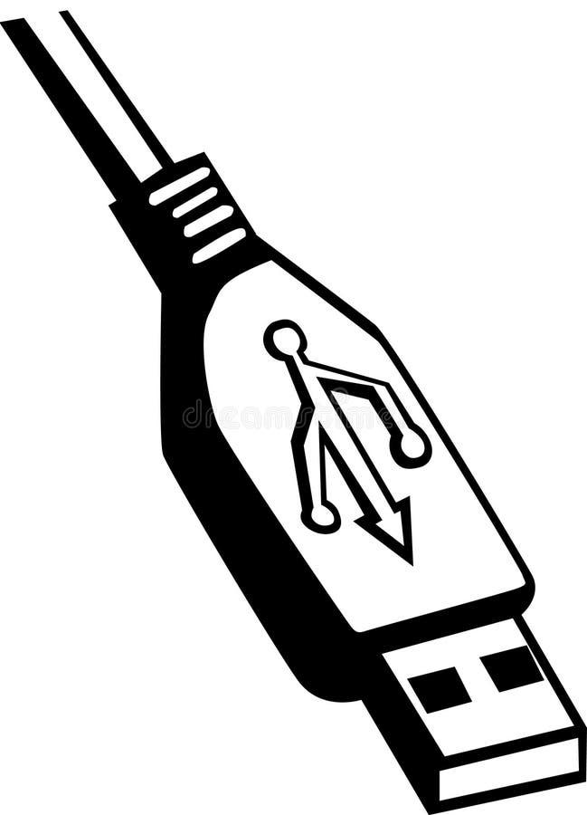 De kabel van Usb vector illustratie