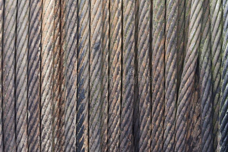 De kabelbroodje van het staal royalty-vrije stock foto's
