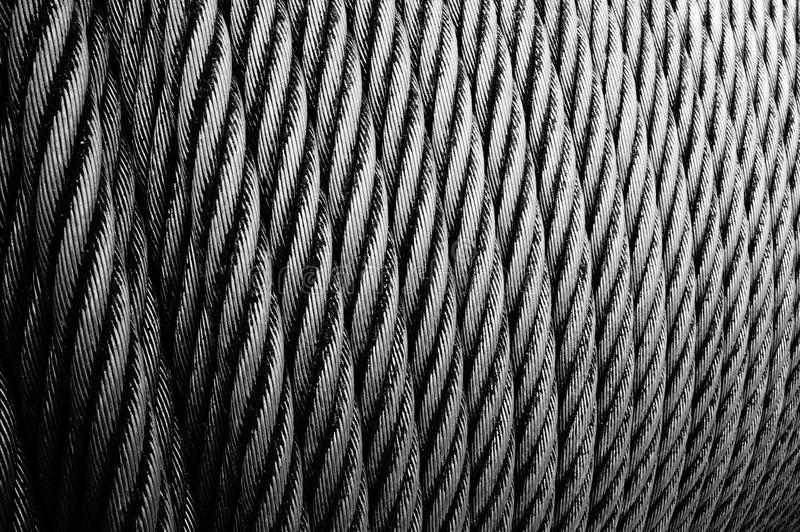 De kabelpatroon van de draad stock afbeeldingen
