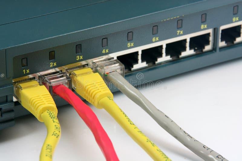 De kabels van Ethernet royalty-vrije stock afbeelding