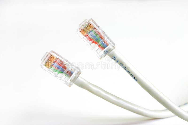 Download De kabels van het netwerk stock foto. Afbeelding bestaande uit modern - 46712