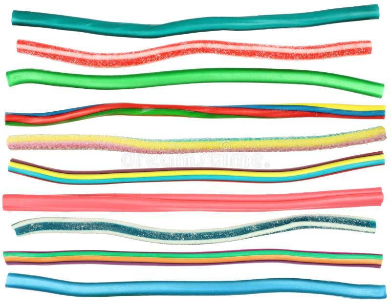 De Kabels van het suikergoed stock afbeeldingen