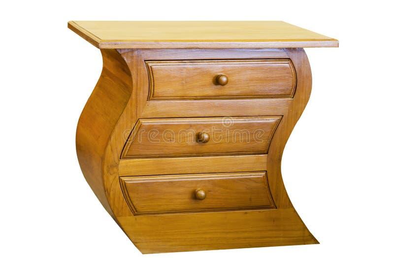 De Kabinetten van de teak, het meubilair van de Teak stock afbeeldingen
