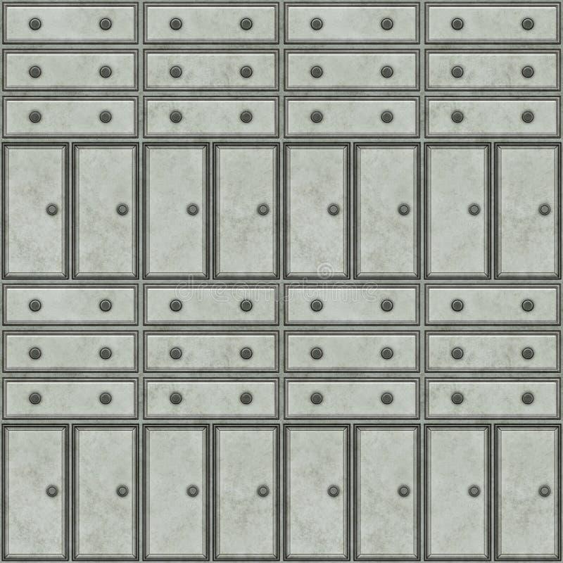 Download De Kabinetten Van Het Metaal Stock Illustratie - Illustratie bestaande uit work, dossier: 10779309