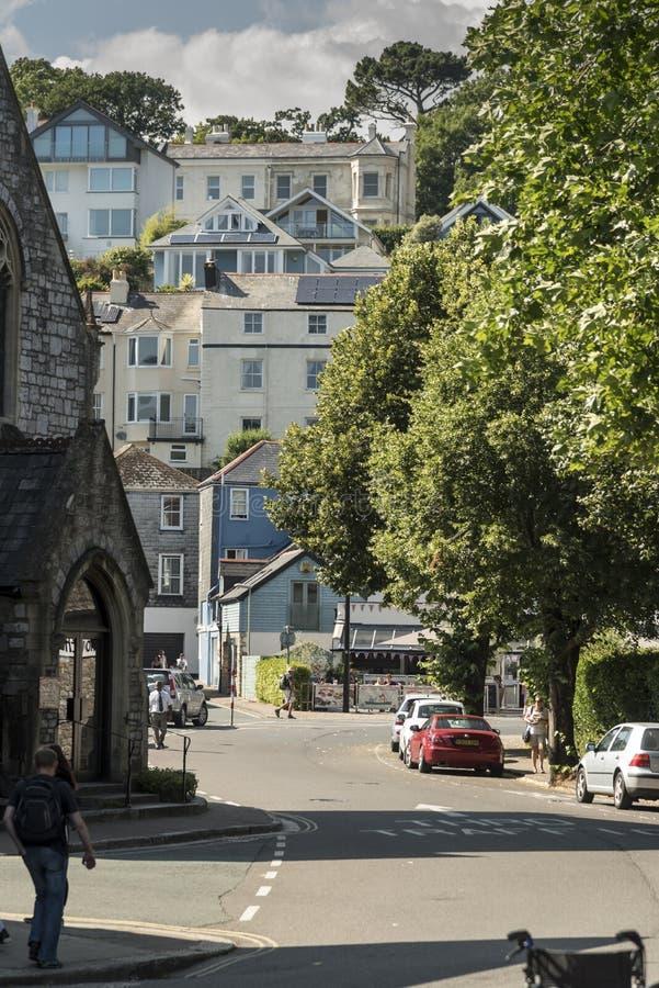 De Kade Dartmouth Devon het UK royalty-vrije stock afbeeldingen