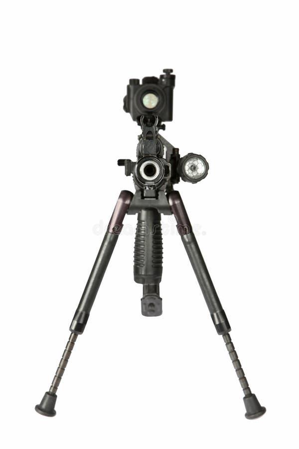 De Kalashnikov van het machinegeweer royalty-vrije stock foto's