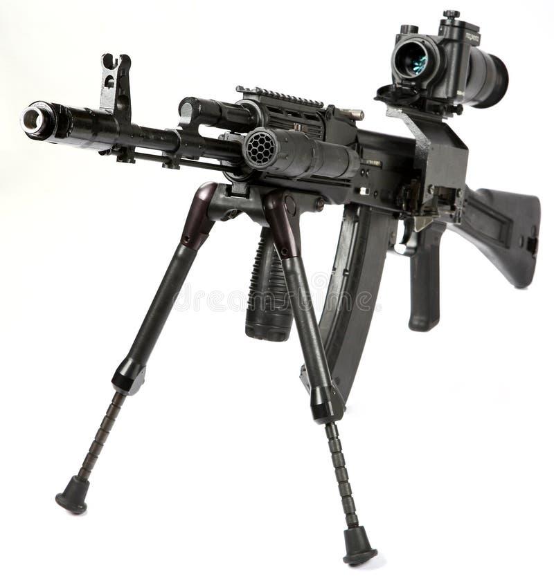 De Kalashnikov van het machinegeweer stock foto's