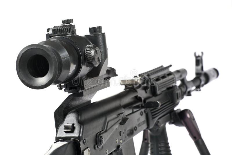 De Kalashnikov van het machinegeweer royalty-vrije stock afbeelding