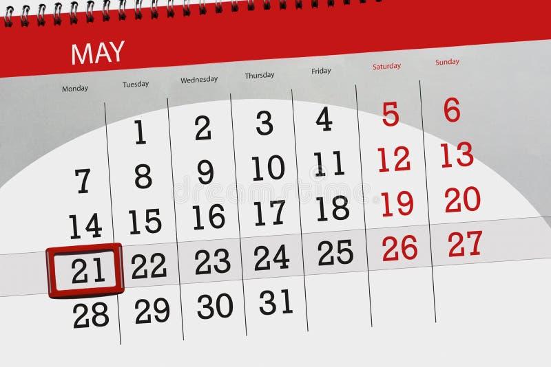 De kalender, dag, maand, zaken, concept, agenda, uiterste termijn, ontwerper, de vakantie van de staat, lijst, kleurenillustratie royalty-vrije illustratie
