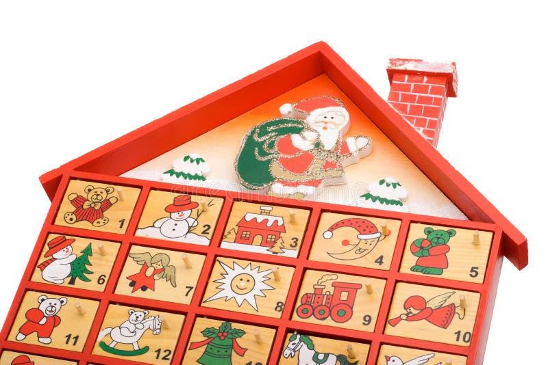 De kalender van de komst royalty-vrije stock afbeeldingen