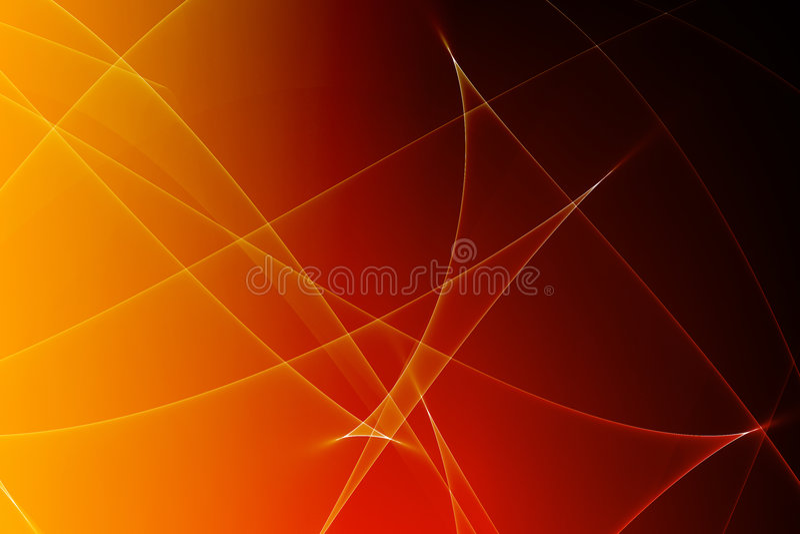 De kalmerende Abstracte Gloeiende Achtergrond van Lijnen vector illustratie