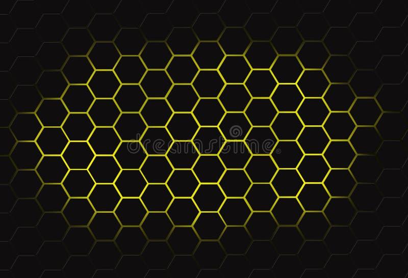 De kam van de veelhoekhoning vector illustratie