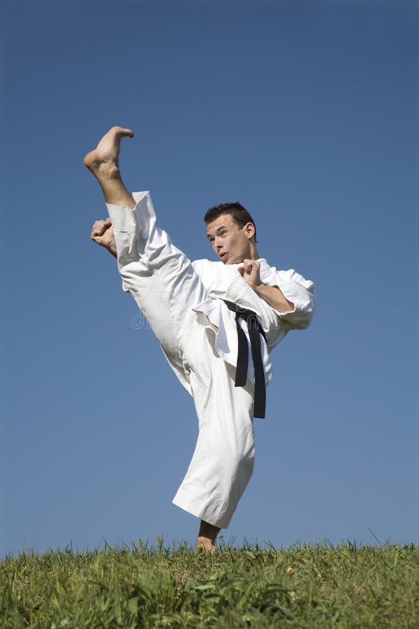 De kampioen van de wereld van karate - kata royalty-vrije stock afbeelding