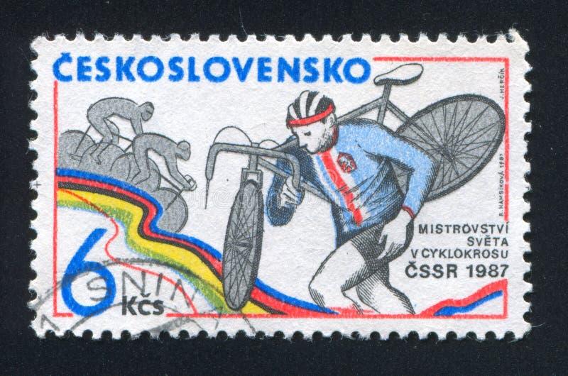 De Kampioenschappen van wereldcyclocross royalty-vrije stock foto
