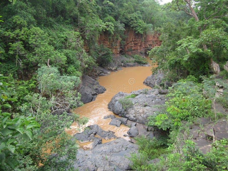 De Kanger córrego do rio velly foto de stock