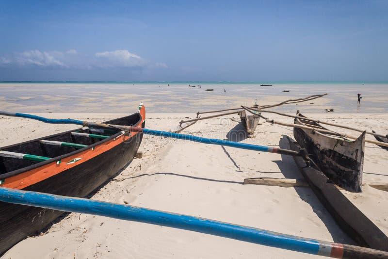 De kano's van de kraanbalk stock afbeelding