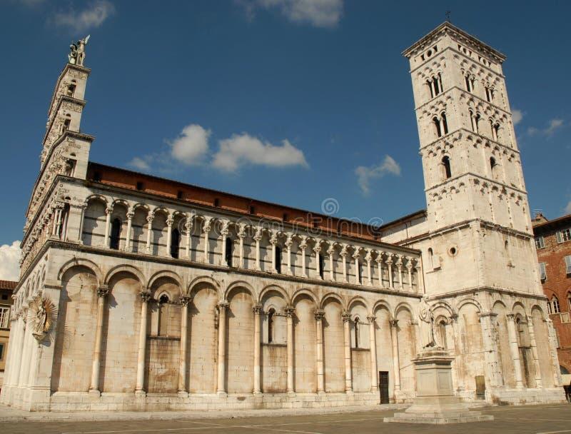 De kant van de kathedraal royalty-vrije stock foto