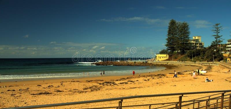 De Kant van het strand royalty-vrije stock fotografie