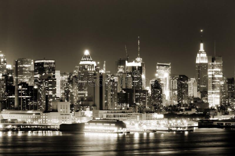 De kant van het Westen van Manhattan royalty-vrije stock foto