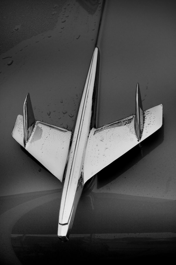 De kap van de auto royalty-vrije stock fotografie